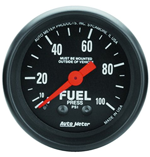 Auto Meter 2612 Z-Series Mechanical Fuel Pressure Gauge
