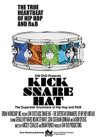 a5c518ef Amazon.com: Kick Snare Hat: Superstar Drummers of Hip Hop and R&B ...