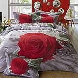 YiXinZhaiPei Unique 3D printing of pure cotton bedding flowers set of 4 , queen