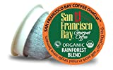 San Francisco Bay OneCup Organic Rainforest Blend (36 Count) Single Serve Coffee Compatible with Keurig K-cup Brewers Single Serve Coffee Pods, Compatible with Cuisinart, Bunn single serve brewers