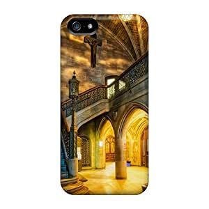 YckiQpZ3732LVYQa Tpu Phone Case With Fashionable Look For Iphone 5/5s - Interior Of Church Hdr