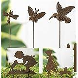 Mini Metal Garden Stakes