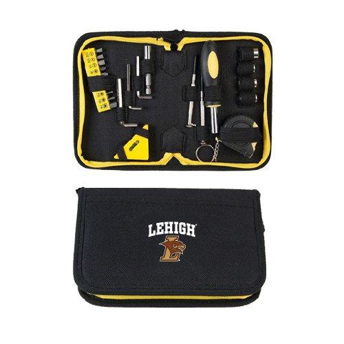 CollegeFanGear Lehigh Compact 23 Piece Tool Set 'Official Logo' by CollegeFanGear