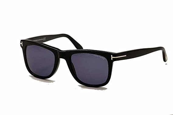 d7d679cdc10 Sunglasses Tom Ford TF 336 FT0336 01V shiny black blue at Amazon ...