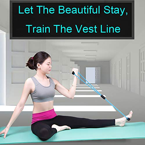 waitFOR Latex Rubber Yoga Stretching Strap Stretch Band Rope Arm Resistance Fitness Exercise Pilates Workouts Stretcher…