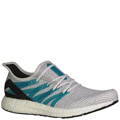 adidas Herren Speedfactory AM4LDN Laufschuhe CloudWhite/Shockgreen ...