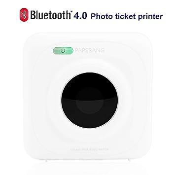 PAPERANG P1 - Impresora portátil inalámbrica de Papel fotográfico ...