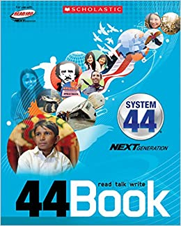 Book Scholastic Read 180 Next Generation System 44 Stage B 44Book Read/Talk/Write