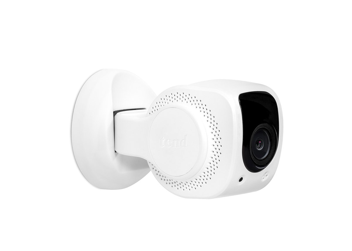 Tend Insights Lynx Indoor 2 - Indoor WiFi Security Camera with Easy Bluetooth Setup, Two Way Audio, Night Vision, and Included Cloud Storage, White (TS0023)