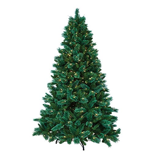 Pre Lit Christmas Trees Amazon - ULTIMA 6.5' Artificial Christmas Tree, 520 Dual-Color LED Multi-Function Lights, Ashland Edition