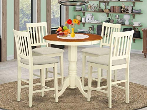 Deal of the week: East West Furniture EDVN5-WHI-C Dining Set 5 Pc