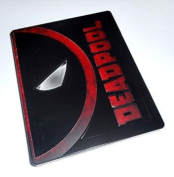 DEADPOOL - STEELBOOK Blu Ray - Exclusiva Media Markt: Amazon.es: Cine y Series TV