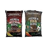 Green Mountain Grills Premium Texas 100% Pure Hardwood Grilling Cooking PelletsGreen Mountain Grills Premium Fruitwood Pure Hardwood Grilling Cooking Pellets