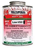 Rectorseal 55994 1-Gallon Hot 203L Medium Body Blue Low Voc Pvc Solvent Cement
