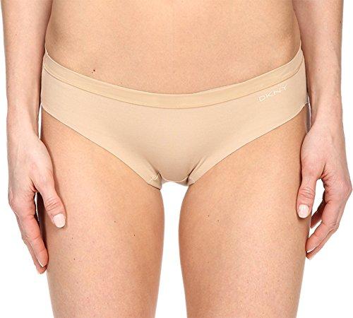 DKNY Smooth Cotton Bikini, L, Skinny Dip