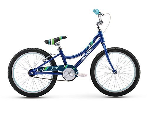 Raleigh Bikes Girls Jazzi 20 Bike, One Size, Blue