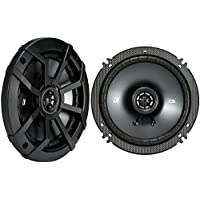 Kicker CSC65 6.5 2 Way 300W 4 Ohm Coaxial Car Audio Speakers, Pair | 43CSC654