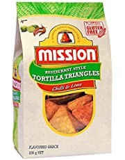 Mission Foods Chilli & Lime Chips 230 g