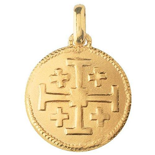 Monnaie de Paris - Collection RELIGIEUX -  Pendentif seul (sans chaîne) -  Or jaune 18 cts -  10011124250P00