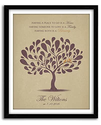 Family Tree Wedding Gift: Amazon.com: Personalized Wedding Gift, 50th Anniversary