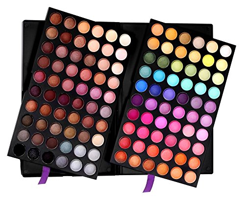 SHANY Ultimate Fusion Eyeshadow Palette (120 Color Eyeshadow Palette, Natural Nude and Neon Combination), Net Wt. 120g