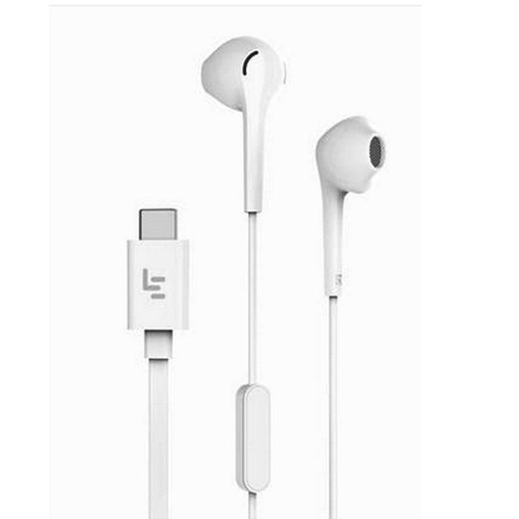 Auriculares USB Tipo C con Gancho Intrauriculares Universal para Teléfono Inteligente Blanco: Amazon.es: Electrónica