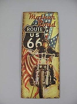 Nostalgia Letrero de Metal, Mother Road Ee.uu. Ruta 66 ...