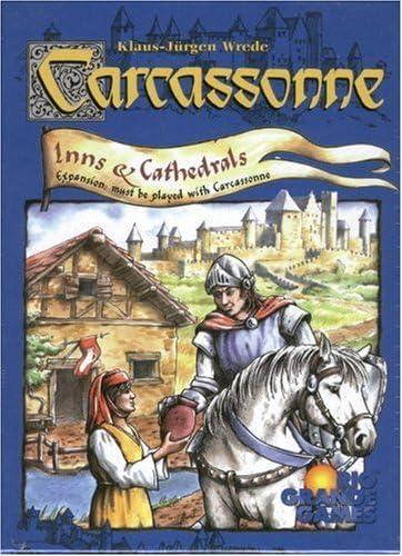 Carcassonne: Inns and Cathedrals by Rio Grande Games: Amazon.es: Juguetes y juegos