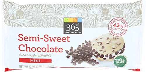 365 Everyday Value, Mini Semi-Sweet Chocolate Baking Chips, 12 Ounce