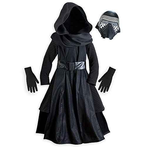 Star Wars Kylo Ren Costume for Kids - Star Wars: The Force Awakens Size 9/10 (Star Wars Boys Costumes)