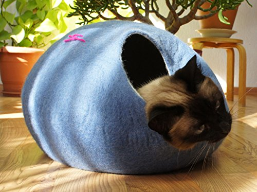 Felted Cat Bed - 7