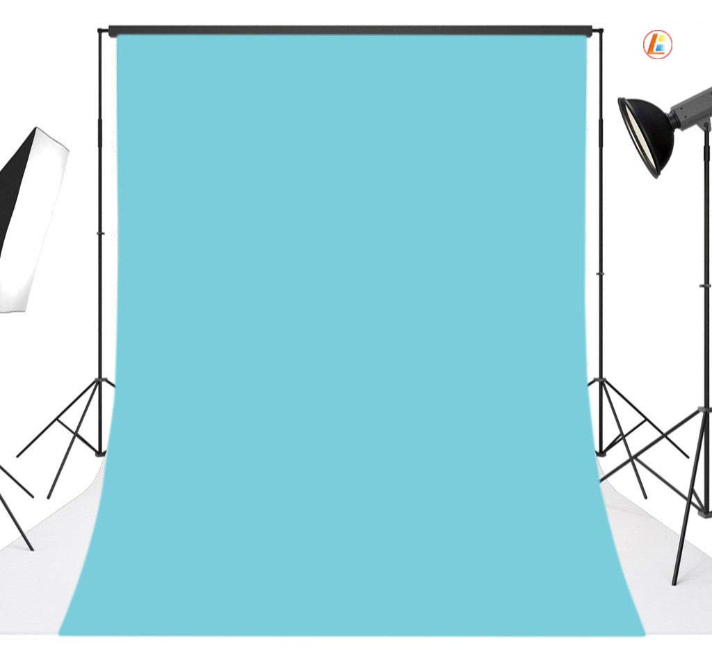 FidgetGear 10x20フィート ライトブルー ビニール写真背景幕 スタジオ写真小道具 06   B07HPYPGYN