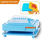 100 Holes (0#) Capsule Holder With Tamper for Size 0 Capsules New Generation Capsule filler Capsule Filling Machine Capsules Holding Tray Pill Dispensers & Reminders