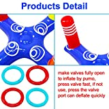 Inflatable Pool Ring Toss Pool Game Toys Floating