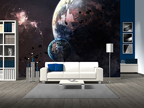 Universe Scene with Planets Stars and Galaxies in Outer Space Showing the Beauty of Space Exploration