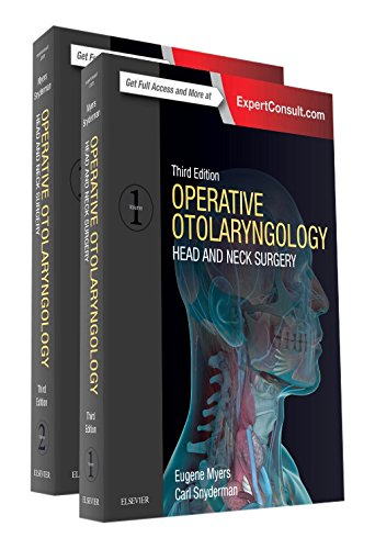 Operative Otolaryngology: Head and Neck Surgery, 2-Volume Set, 3e