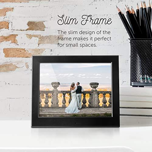 Aluratek - 8'' Slim Digital Photo Frame with Auto Slideshow 1024 x 768 Hi-Res by Aluratek (Image #3)