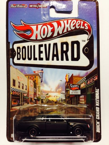2012 Hot Wheels Boulevard Ahead Of Its Time Buick Grand National Black