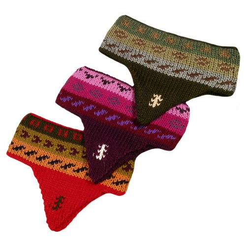 アルパカ耳フラップニットヘッドバンドW / 3 pack assortment fine冬暖かさ   B005RSZLUY