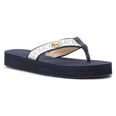 895355083492 Michael Michael Kors Womens Gage Flip Flop Open Toe Casual