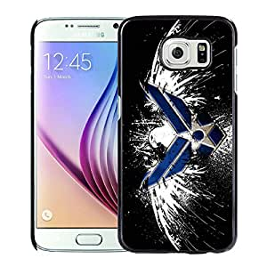 Custom Luxury Cover Case With US Air Force LOGO Black Samsung Galaxy S6 Case