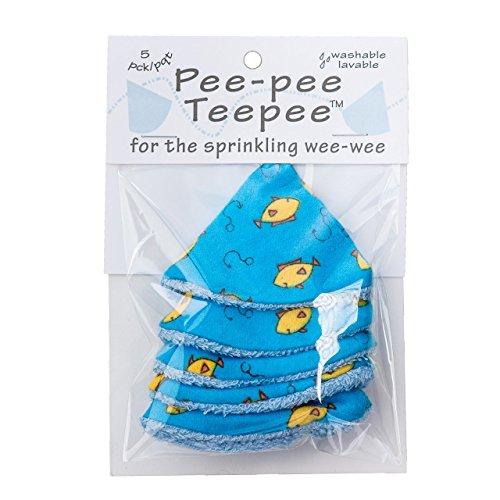 Pee-pee Teepee Fishing Blue - Cello Bag -