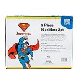 Bumkins DC Comics Superman Kids Dish