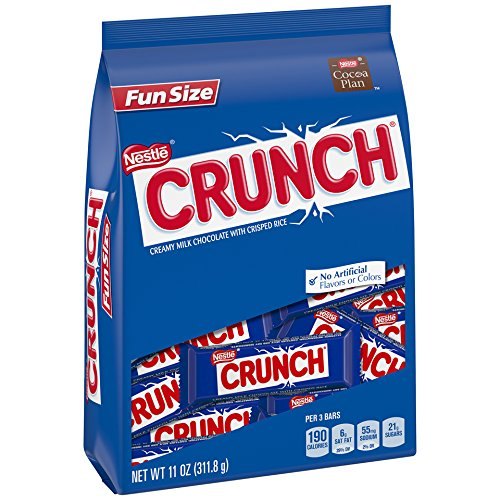 Crunch Creamy Milk Chocolate with Crisped Rice, 6 Count
