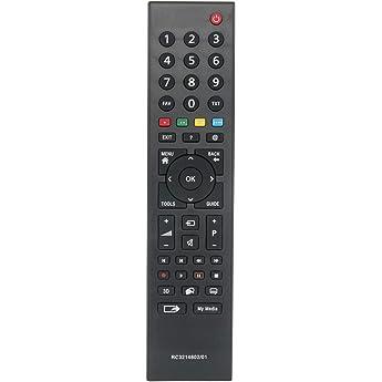 ALLIMITY RC3214802/01 Mando a Distancia reemplazado por Grundig 3D TV RC3214802-01 TS1187R-1: Amazon.es: Electrónica