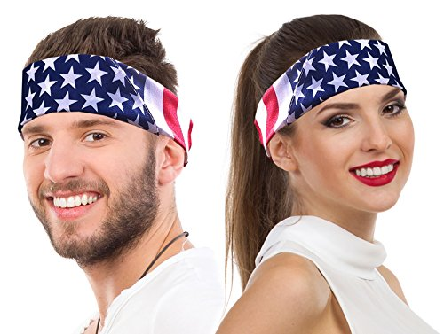 American Flag Bandana Headband US Bandana For Men USA Flag Bandana USA Bandana