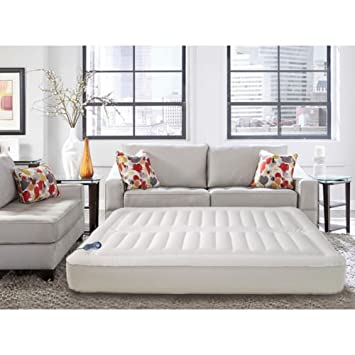 lux aire adjustable 10inch kingsize air mattress