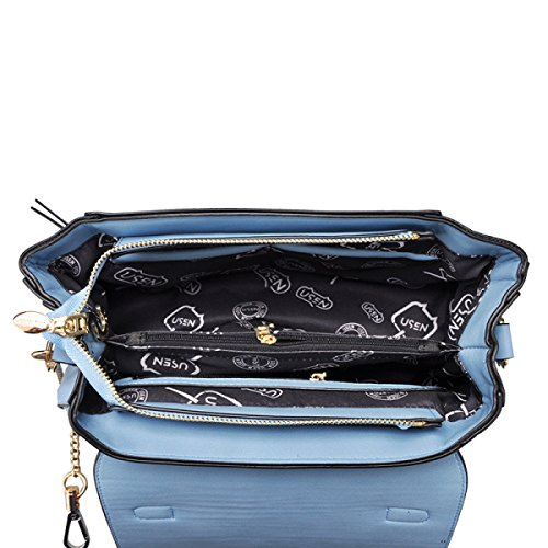 Sac Mode Sauvage Large gray Mesdames Sac Grand à épaule Bag Messenger Bandoulière Décontracté Main Sac à Bandoulière 4YP8XqPg