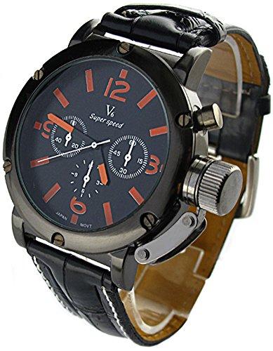 YouYouPifa Sport Leather Quartz Orange product image