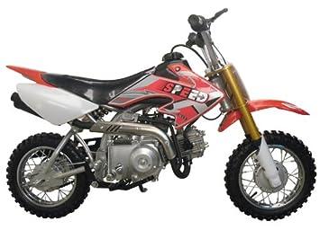 Dirt Bike 70cc Semi Automatic Red Automotive